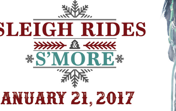 Escape into winter! Sleigh Rides and S'mores January 21 2017